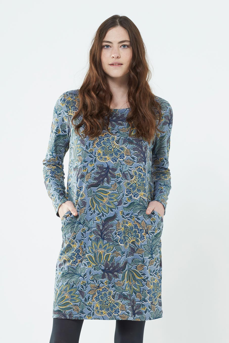 Aurora Tunic Dress Grey